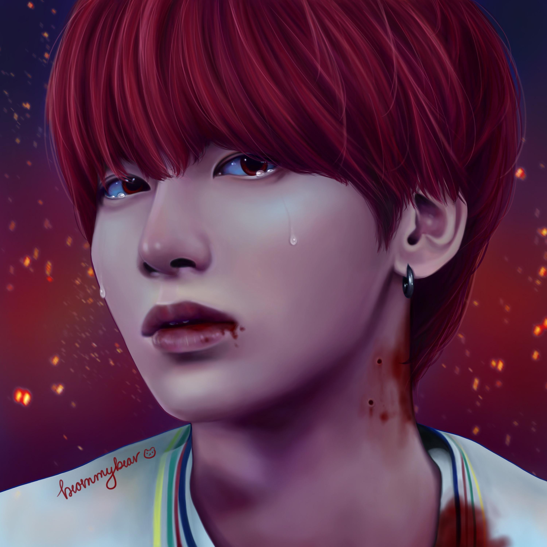 Pin By R Txtbighit Subreddit On Kpop Idols Fan Art Txt Kpop Fanart