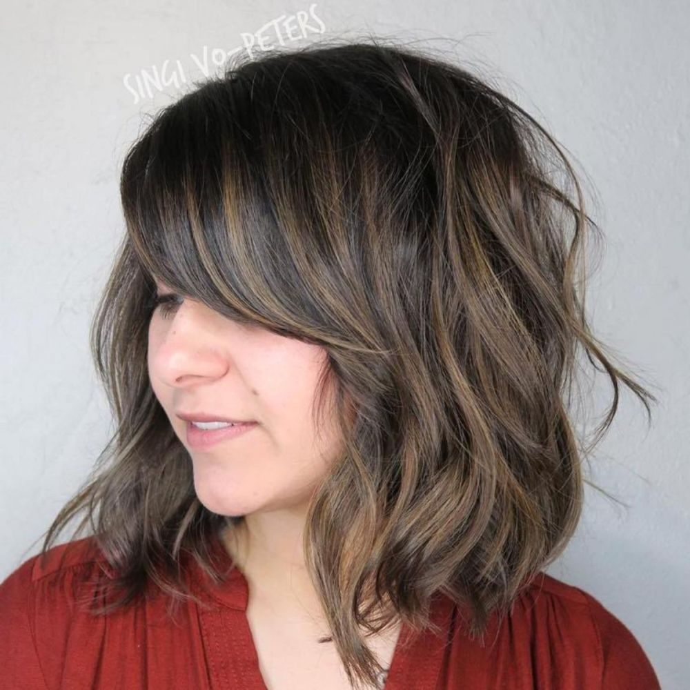 Super Sweeping Side Fringe Side Fringe Long Hair Side Fringe Hairstyles Side Bangs Hairstyles