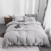 Photo of 3 Piece  Washed Cotton  Duvet Cover Set#Skincare #Skin #ClearSkin #AntiAging #Co…