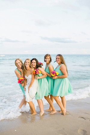 Fun Fort Lauderdale Beach Wedding