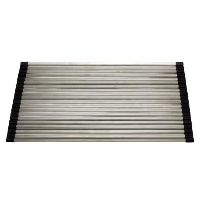Alfi Brand 17 3 In Gray Brushed Stainless Steel Drying Mat For