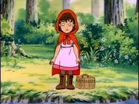 Le petit chaperon rouge dessin anim cin ma dessins - Dessin petit chaperon rouge ...