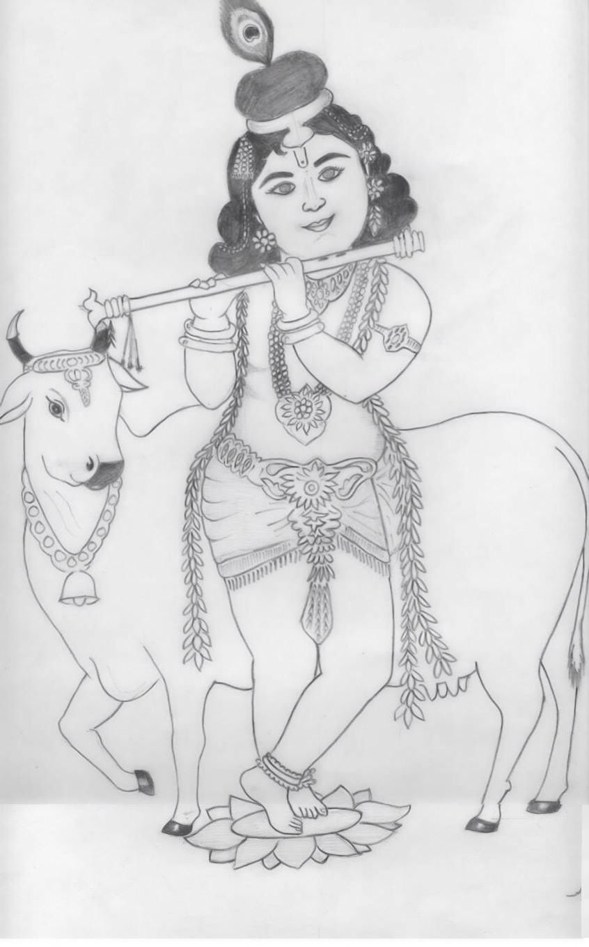 The stars and planet are controlled by the intelligence of the supreme personality godhead lord krishna himself