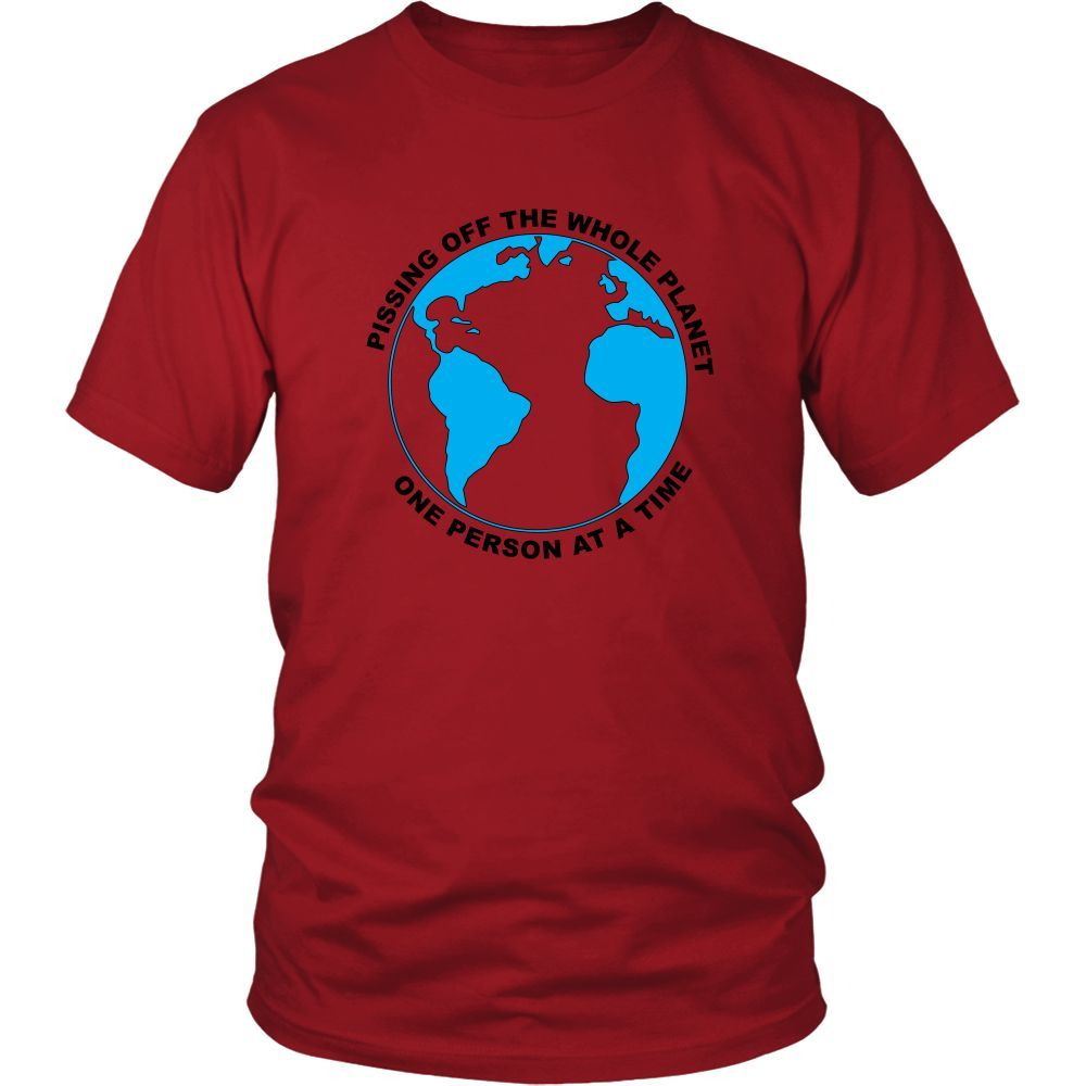 Planet piss t shirt