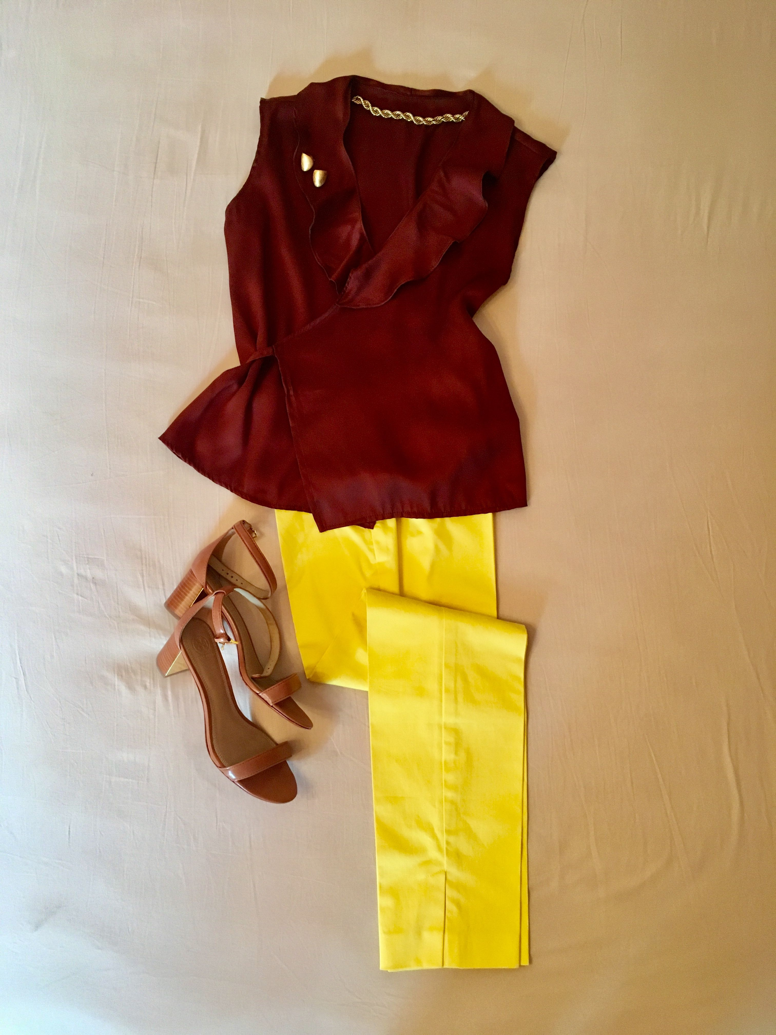 Kombinationen mit einer gelben Sommerhose | Farbe gelb ...