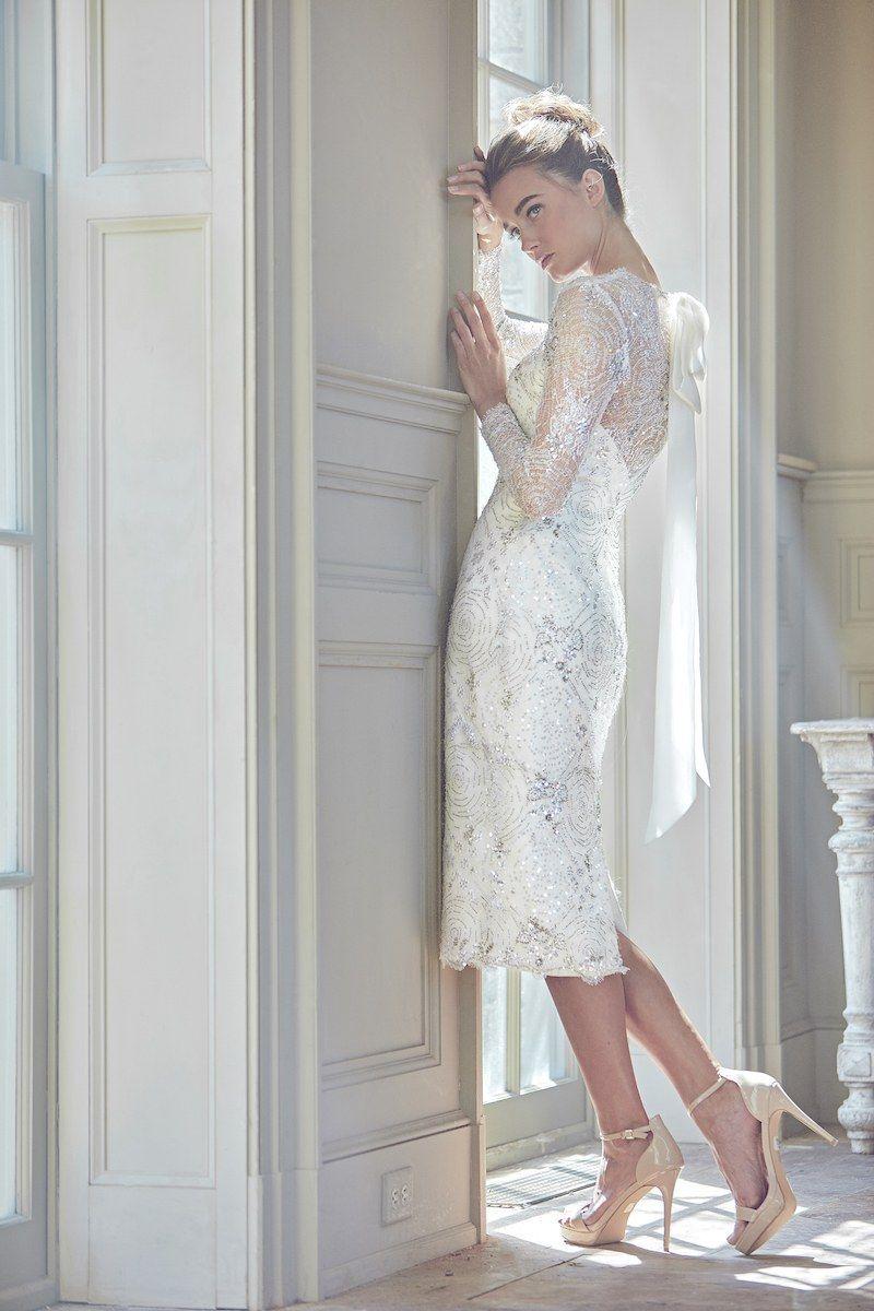 Wedding dresses for 2nd marriage  Sareh Nouri Bridal Spring   Second MarriageOlder Brides