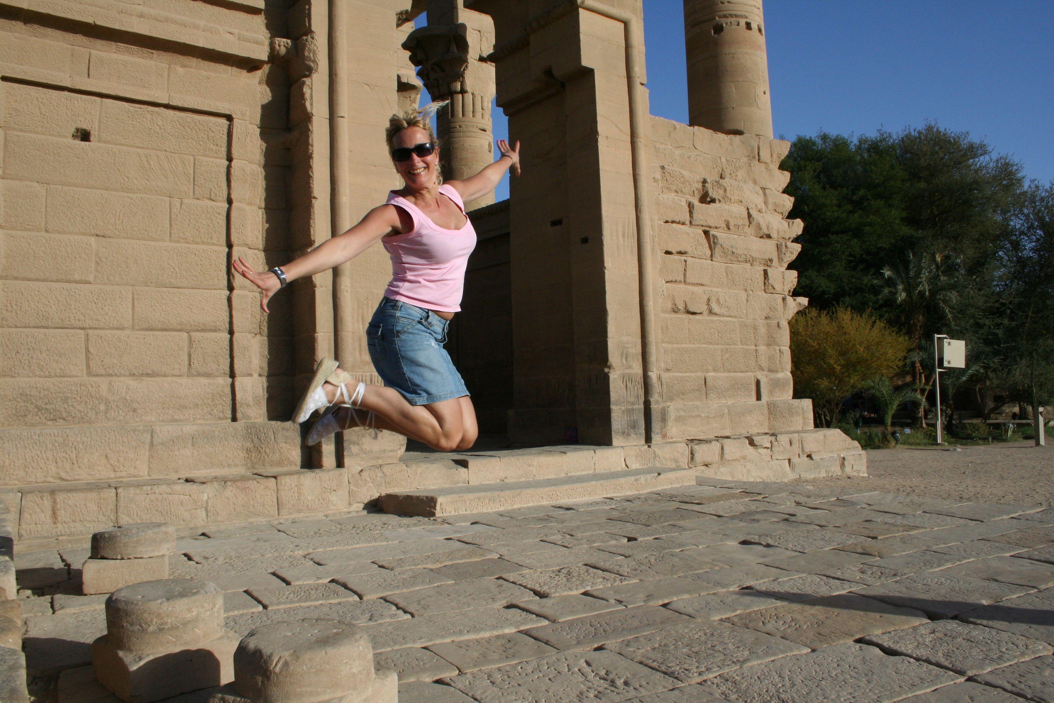 Springen in Egypte