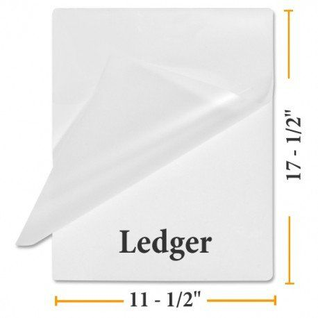 3 Mil Ledger 11 1 2 X 17 1 2 100 Laminating Pouches Guardian Choice Paper Finishing Supplies Wholesale Craft Supplies Discount Labels Craft Supplies Online