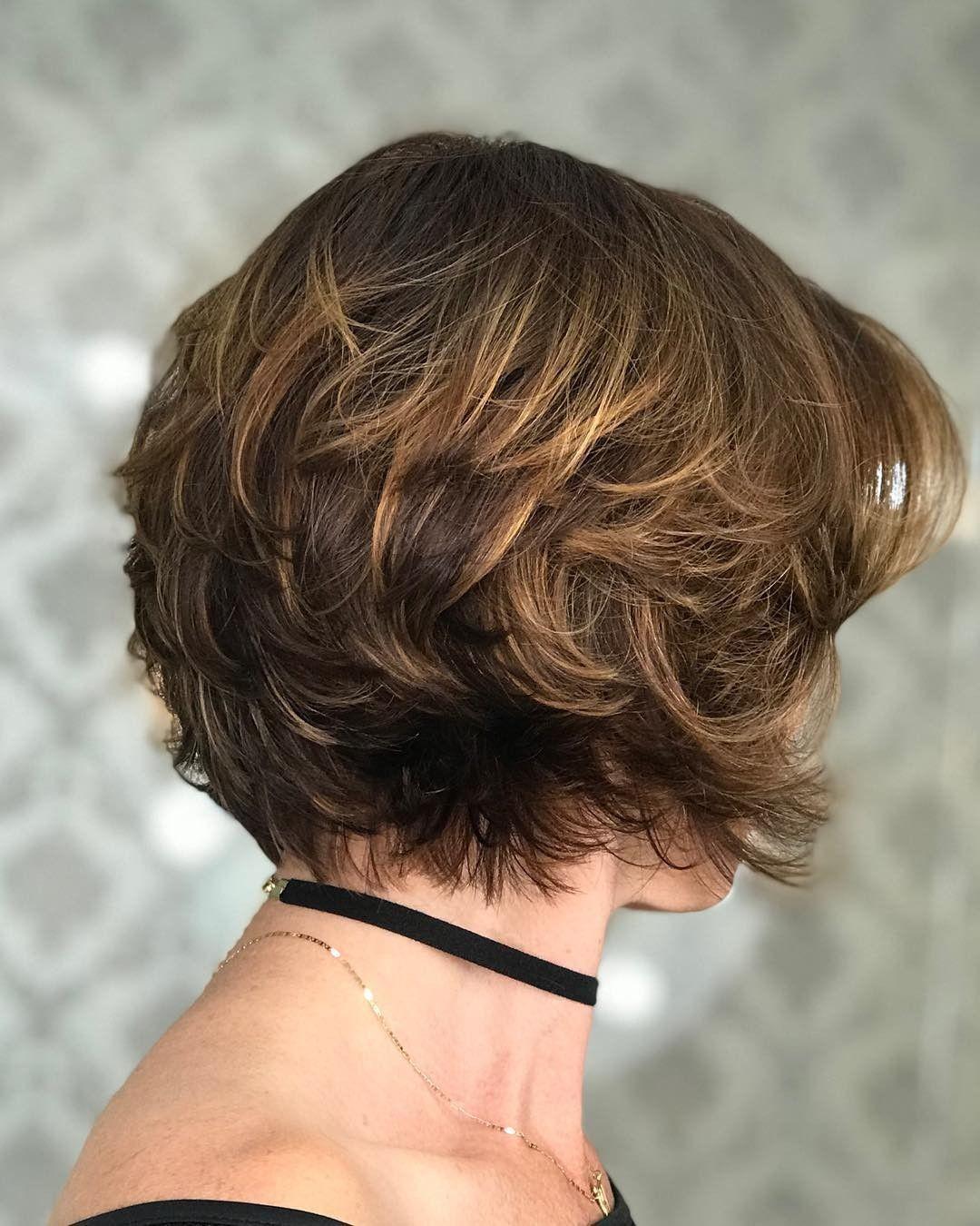 Pin di Pina Iam su capelli nel 2020   Capelli corti folti ...