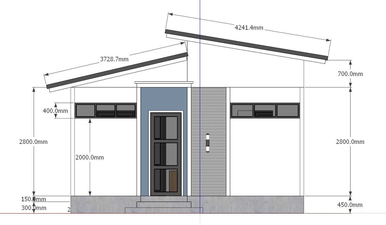 Studio House Plans 6x8 Shed Roof Free Download trong 2020 ...