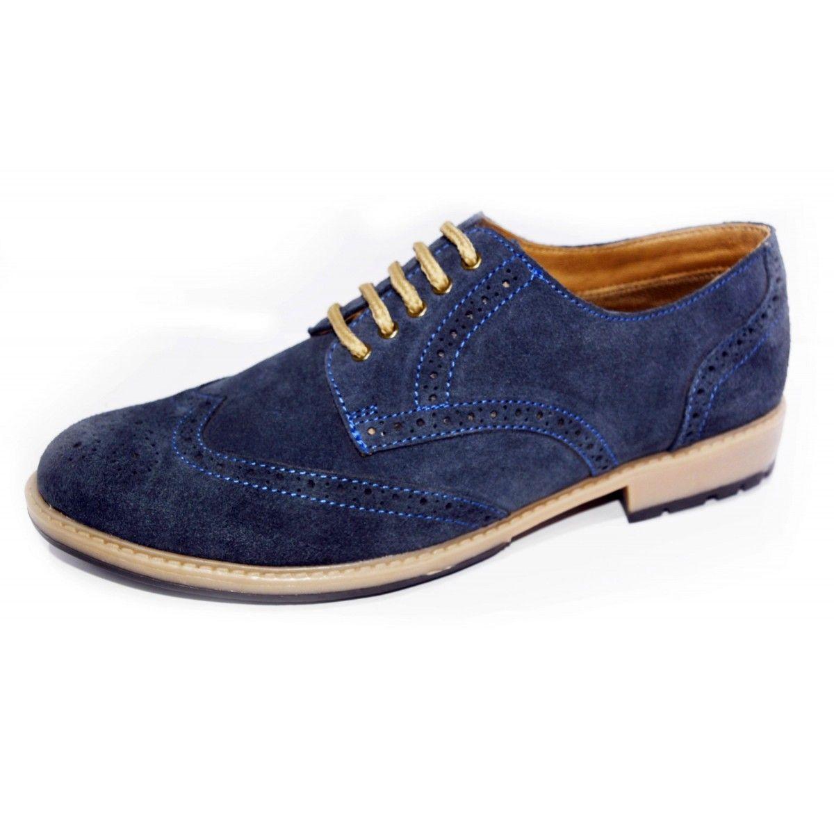 Ajanta Blue Men Lace Up Dress shoes men, Shoes mens