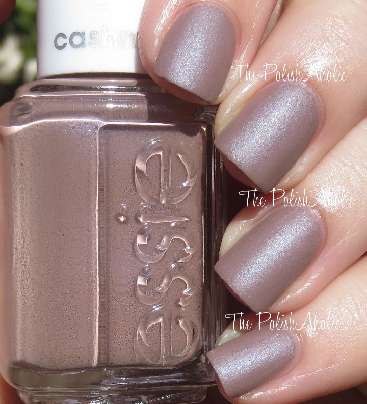 The PolishAholic: Essie Cashmere Matte Collection Swatches & Review ...