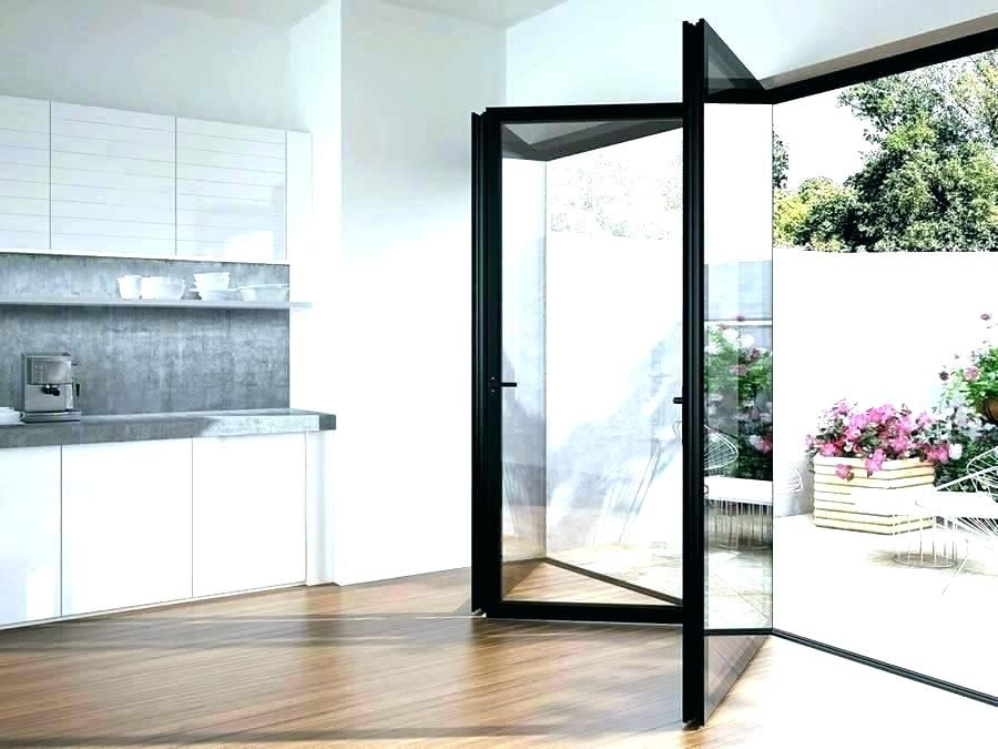 folding glass patio doors