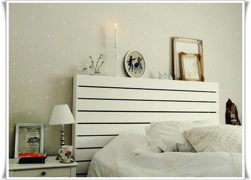sänggavel DIY Gör det själv Pinterest Sänggavel, Sovrum och Heminredning