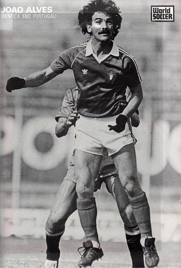 """João Alves, """"Luvas Pretas (Benfica e Portugal)"""