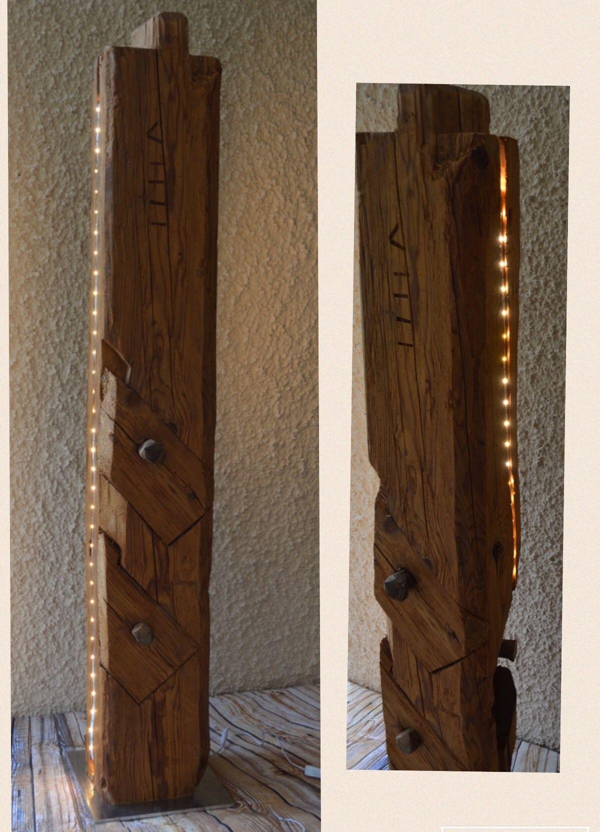 altholz balken mit led holzf chse altholz balken mit led. Black Bedroom Furniture Sets. Home Design Ideas