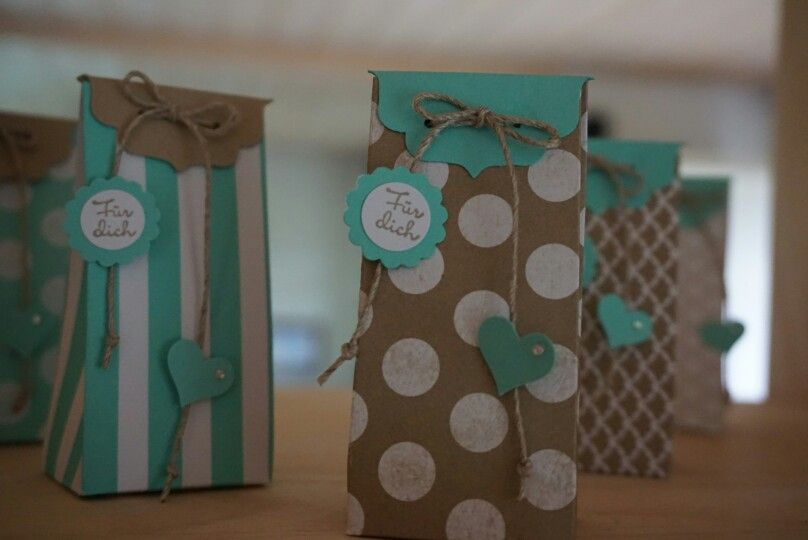 Goodies one sheet box in SU Farben savanne / jade