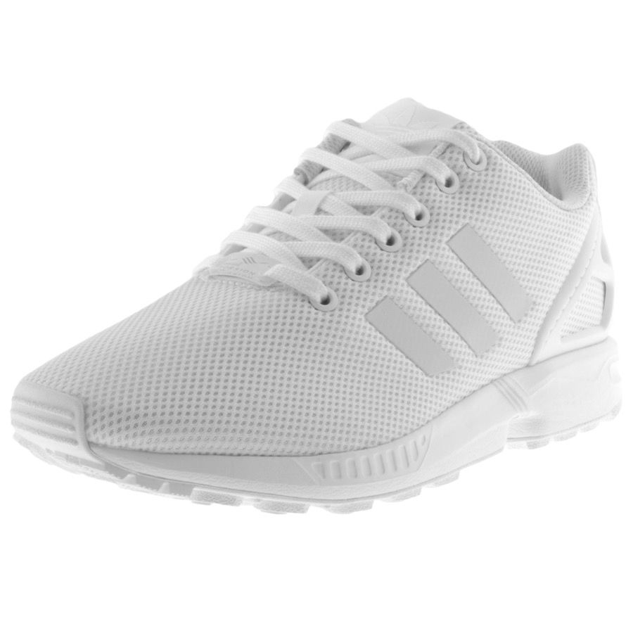 new styles 3952f 9a989 Adidas Originals | Adidas Originals ZX Flux Trainers White ...