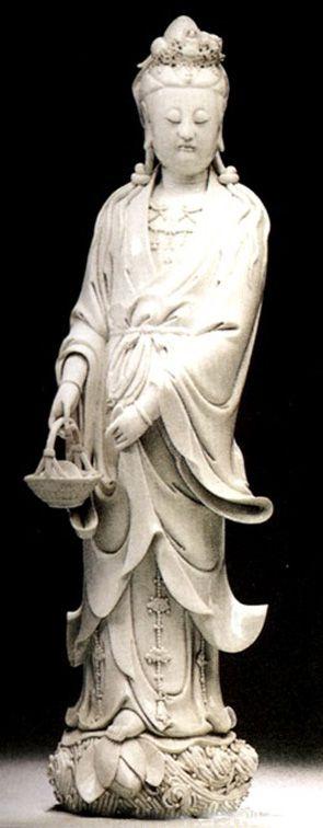 明代僧人 石叟作品 書卷觀音坐像