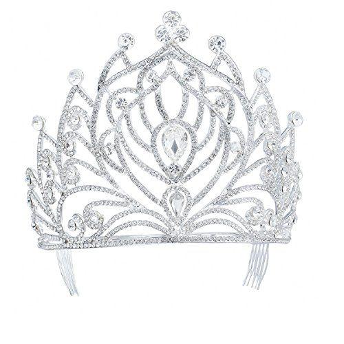 FF Tall Pageant Tiaras with Combs for Women Crystal Weddi... https://www.amazon.com/dp/B01HAZ75EQ/ref=cm_sw_r_pi_dp_U_x_K4pkAb4MMPM3Z