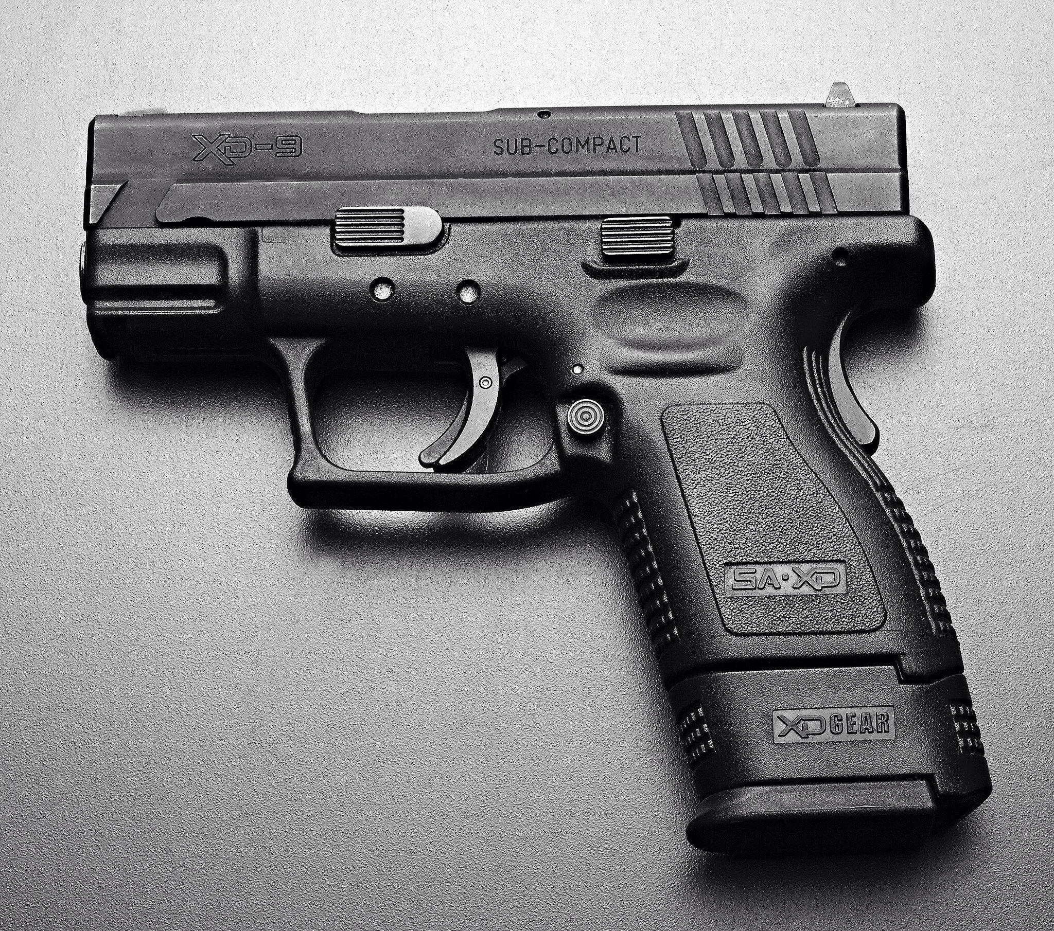 Springfield Armory XD 9mm Sub Compact handgun | Freedom | Pinterest ...