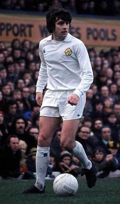 Peter Lorimer of Leeds Utd in 1974.