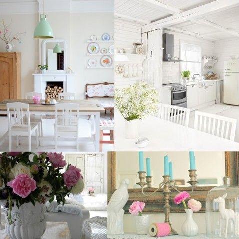 casa romantica shabby chic magazine Interior design