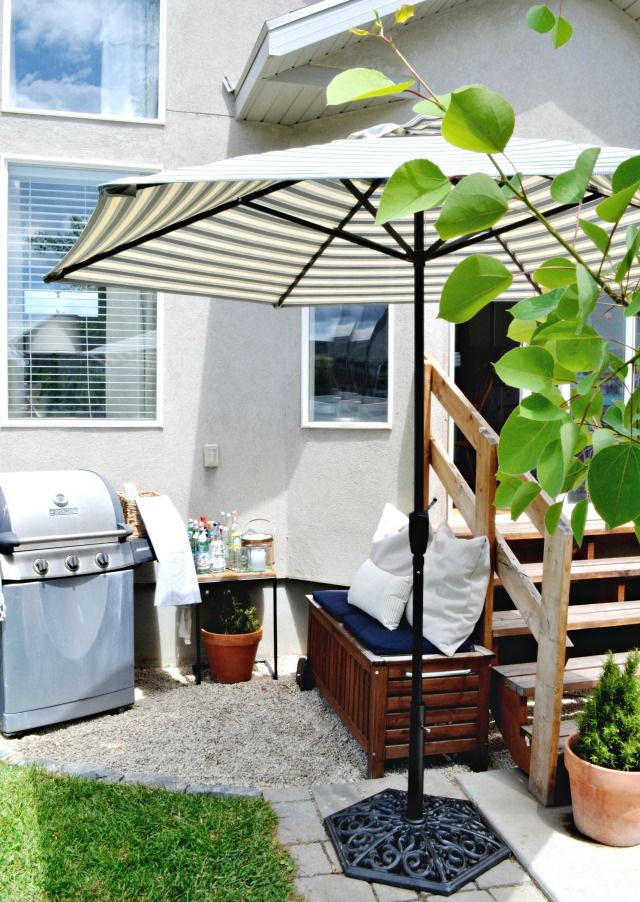 Small Patio On A Budget Design