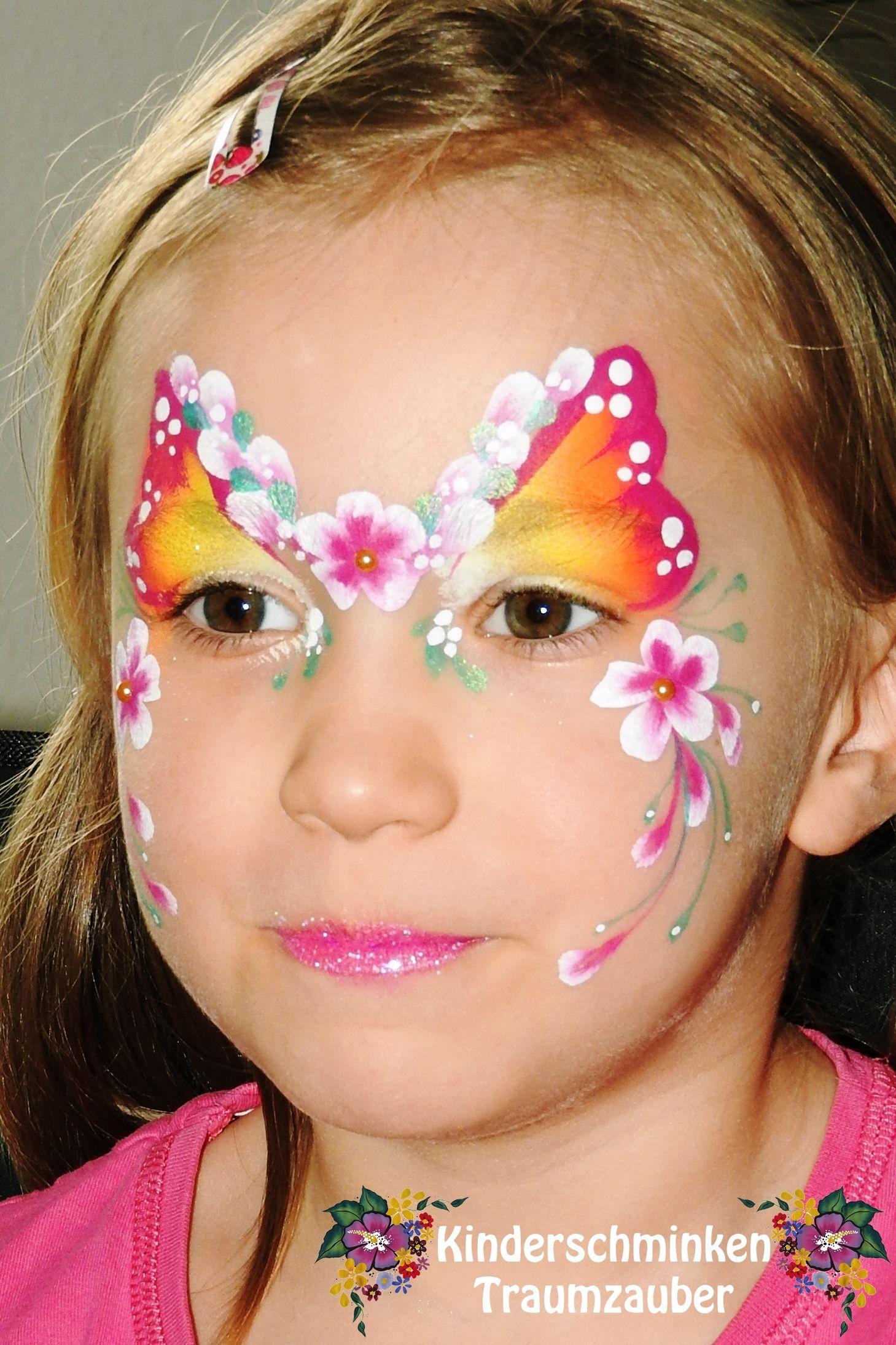Flower Fairy Blumen Fee Kinder Schminken Kinderschminken Schminken