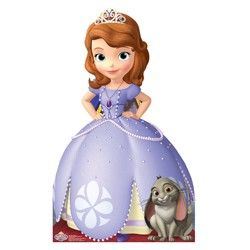 Sofia the First Party Supplies, Sofia the First Lifesize Cutouts