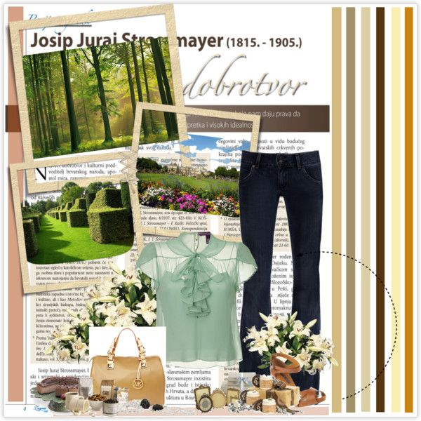 A walk in the park, created by tyanna13 on Polyvore