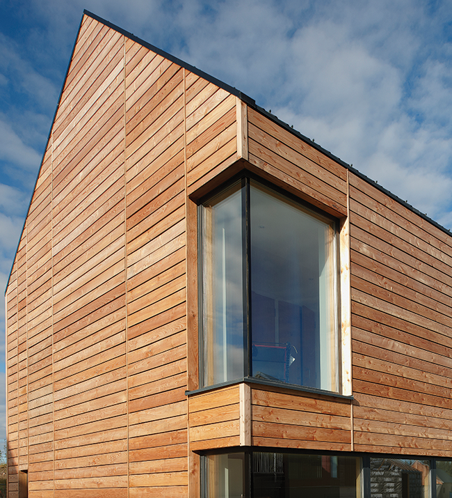 Larch cladding google search 29 spencer road for Window cladding