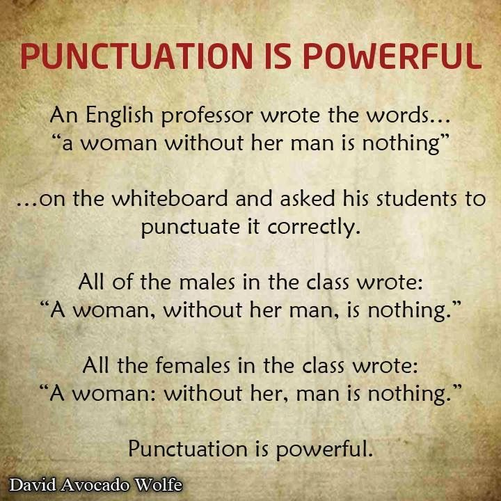 Pin By Miryam Liberman On Humor Pinterest Punctuation Quotes