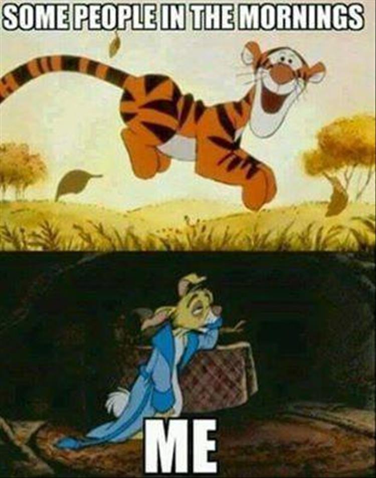Hahahaha I'm tigger :)