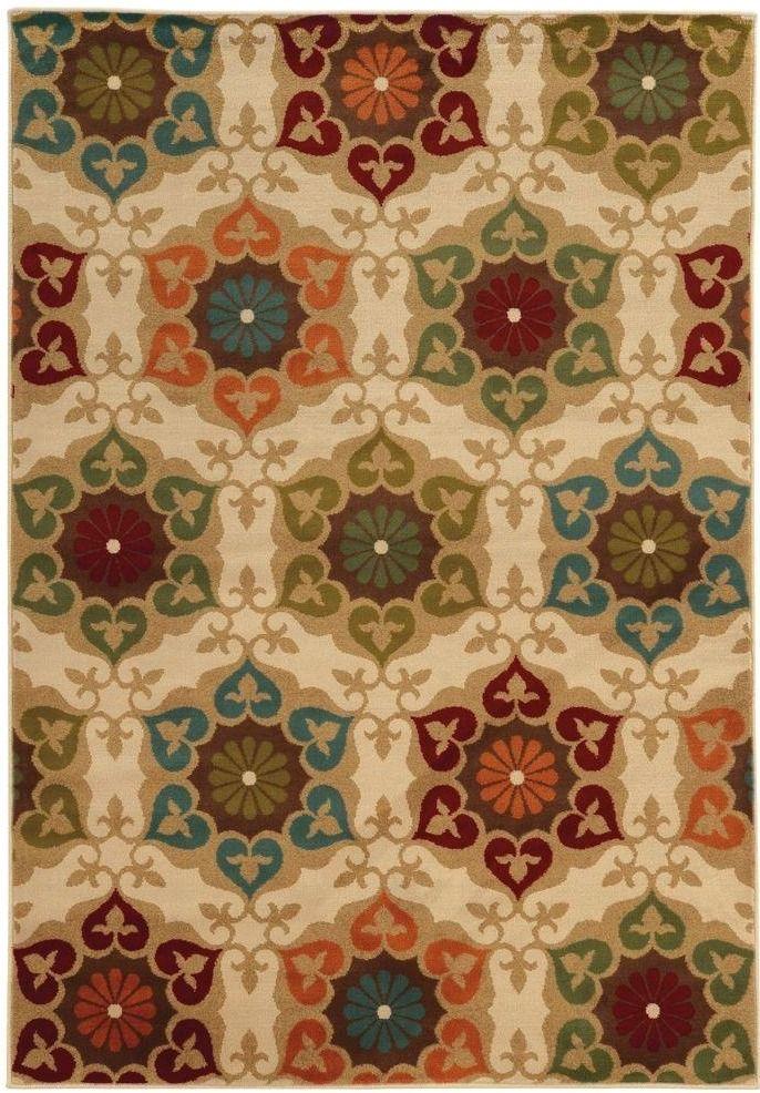 Home Decorators Collection Amelia Medallion Multi 8 Ft X 10 Ft