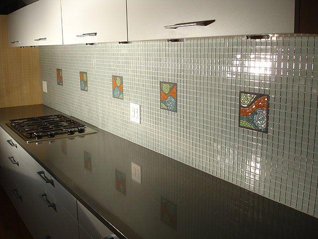 78 Best Images About Kitchen Back-Splash Tile On Pinterest