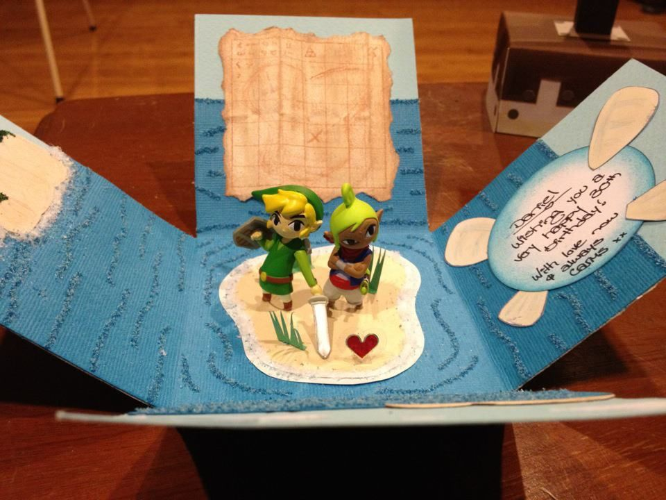 The Greatest Zelda Birthday Card Of All Time Kotaku Australia