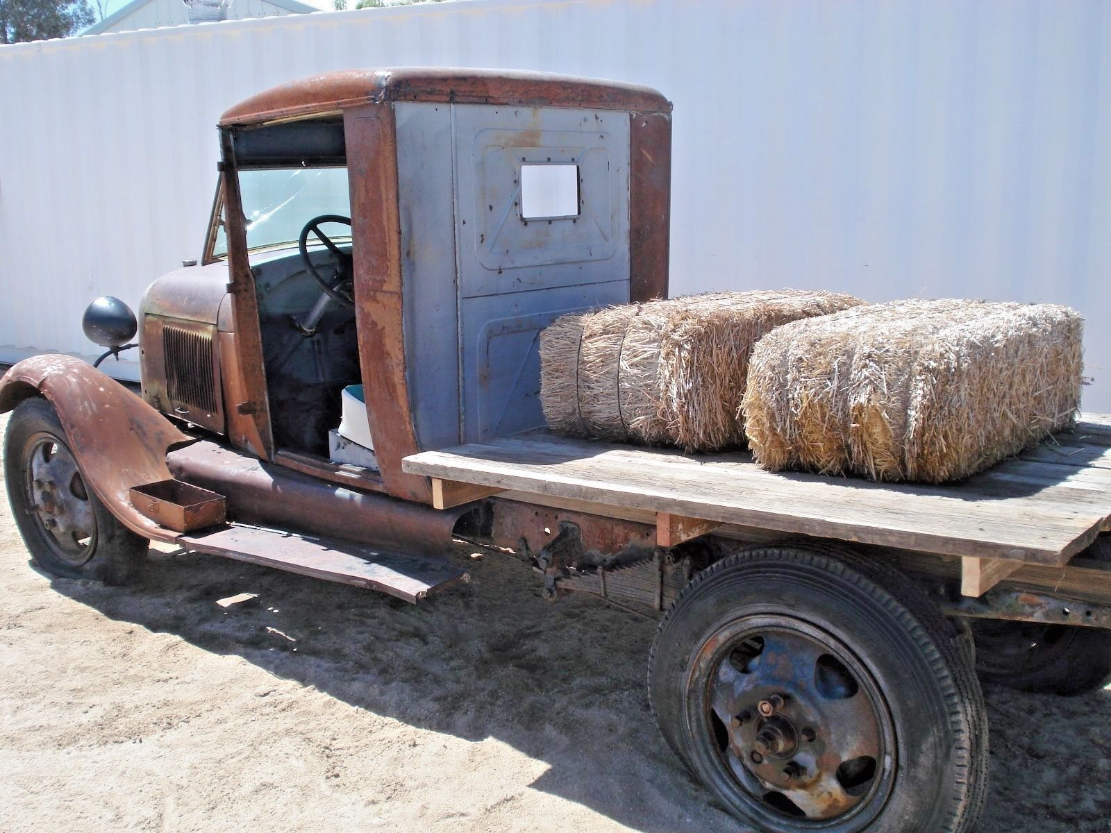 1929 Ford Model A 2 Door Ford Models Ford Flat Bed