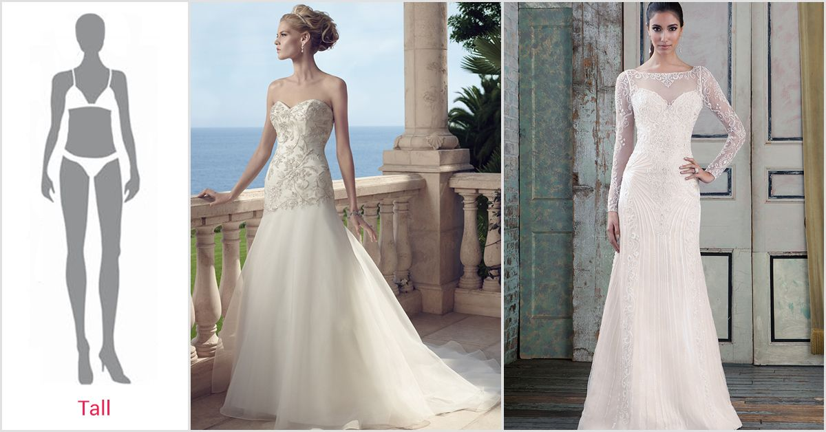 Best Wedding Dresses For Tall Brides