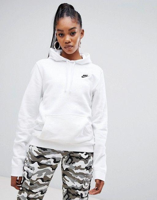 hoodie nike blanc