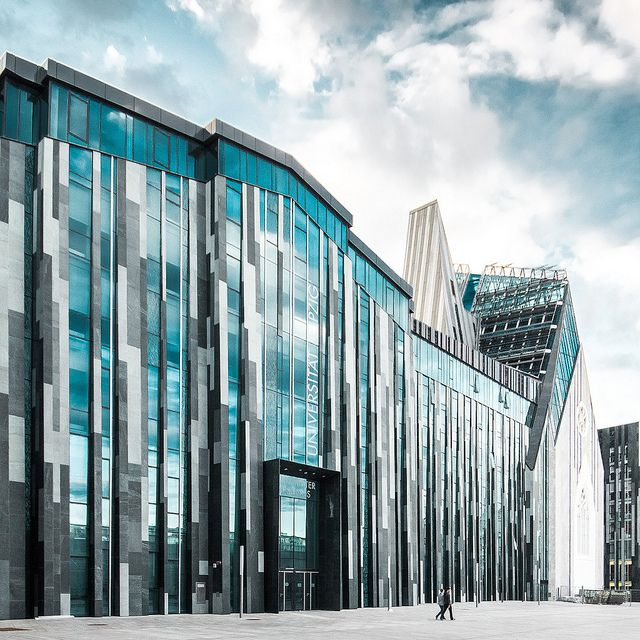 Leipzig Futuristische architektur, Fassadengestaltung