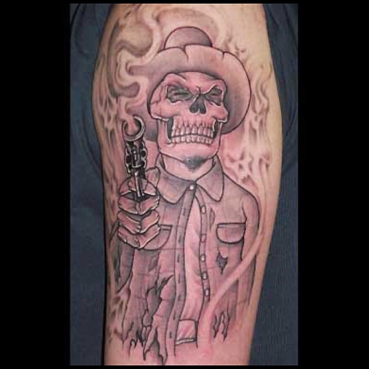 Chicano style Black and grey tattoos Black, grey