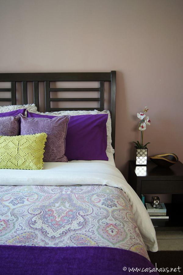 Boho Chic Purple Bedroom Recámara Bohemia Y En Morados