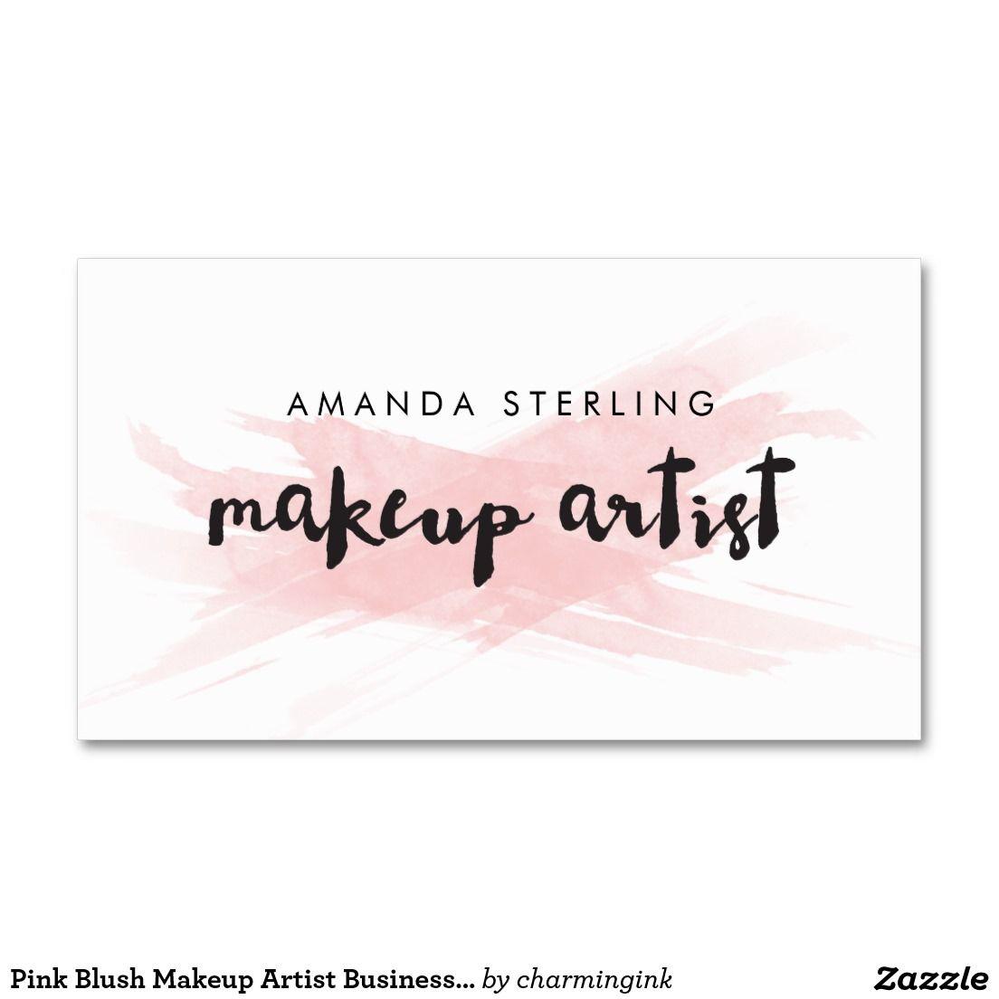 Make Up Artist Visitenkarten Beispiele Zusammen Mit Make Up