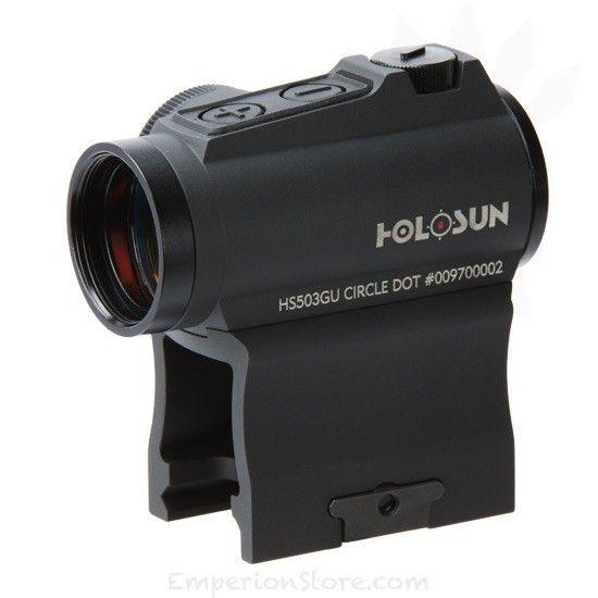 HS503GU Circle dot (Black Housing) - HOLOSUN