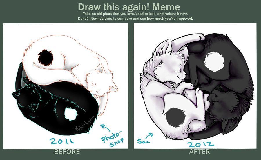 Draw This Again Meme By Nevaeh Lee On Deviantart Art Memes Art Reference Art Drawings