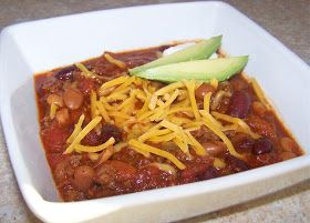 Little Mommy, Big Appetite: Spicy and Sweet Three Bean Slow Cooker Chili