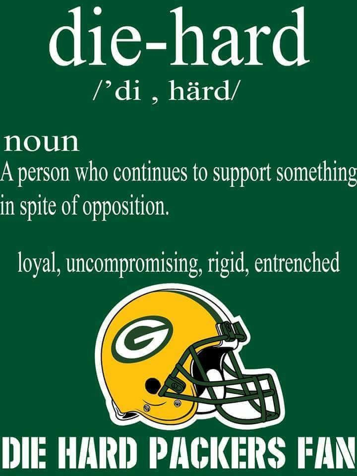 Die Hard Packers Fan Packers Season 0c9a27697