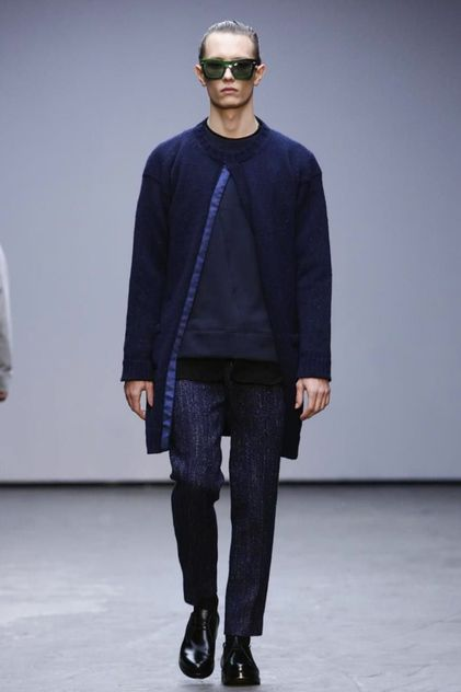 Casely-Hayford Menswear Fall Winter 2015 London