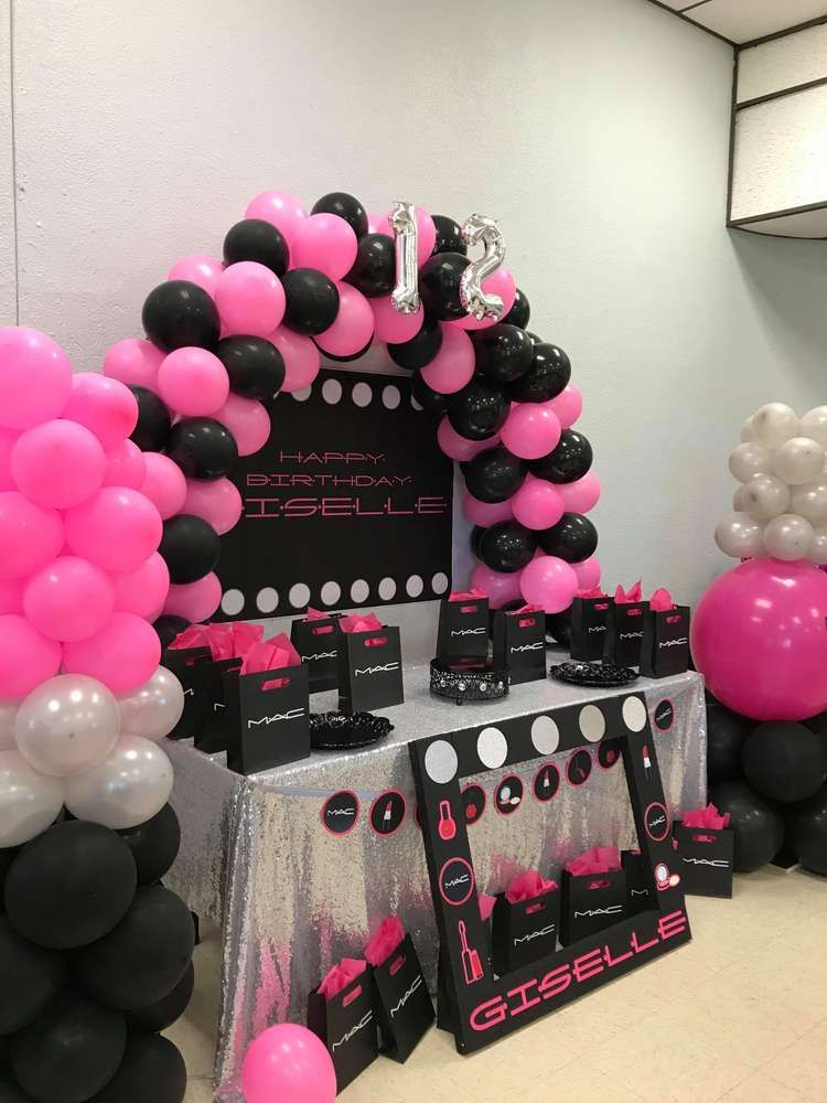 Make Up Birthday Party Ideas Photo 1 Of 6 Catch My
